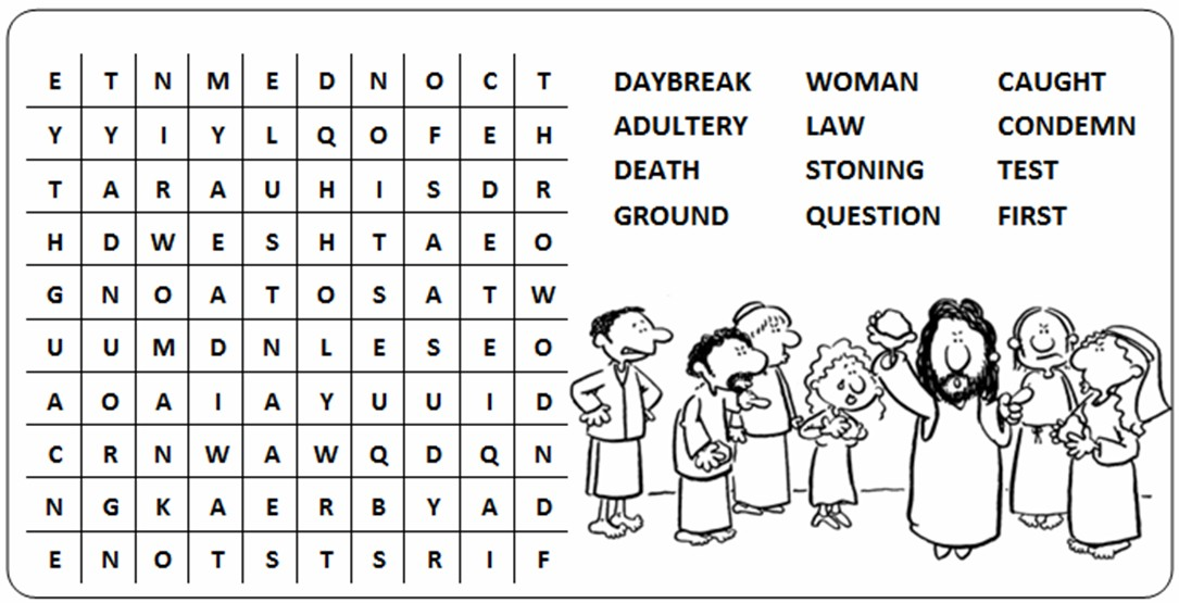 100 Lent Crossword Puzzle Worksheet That